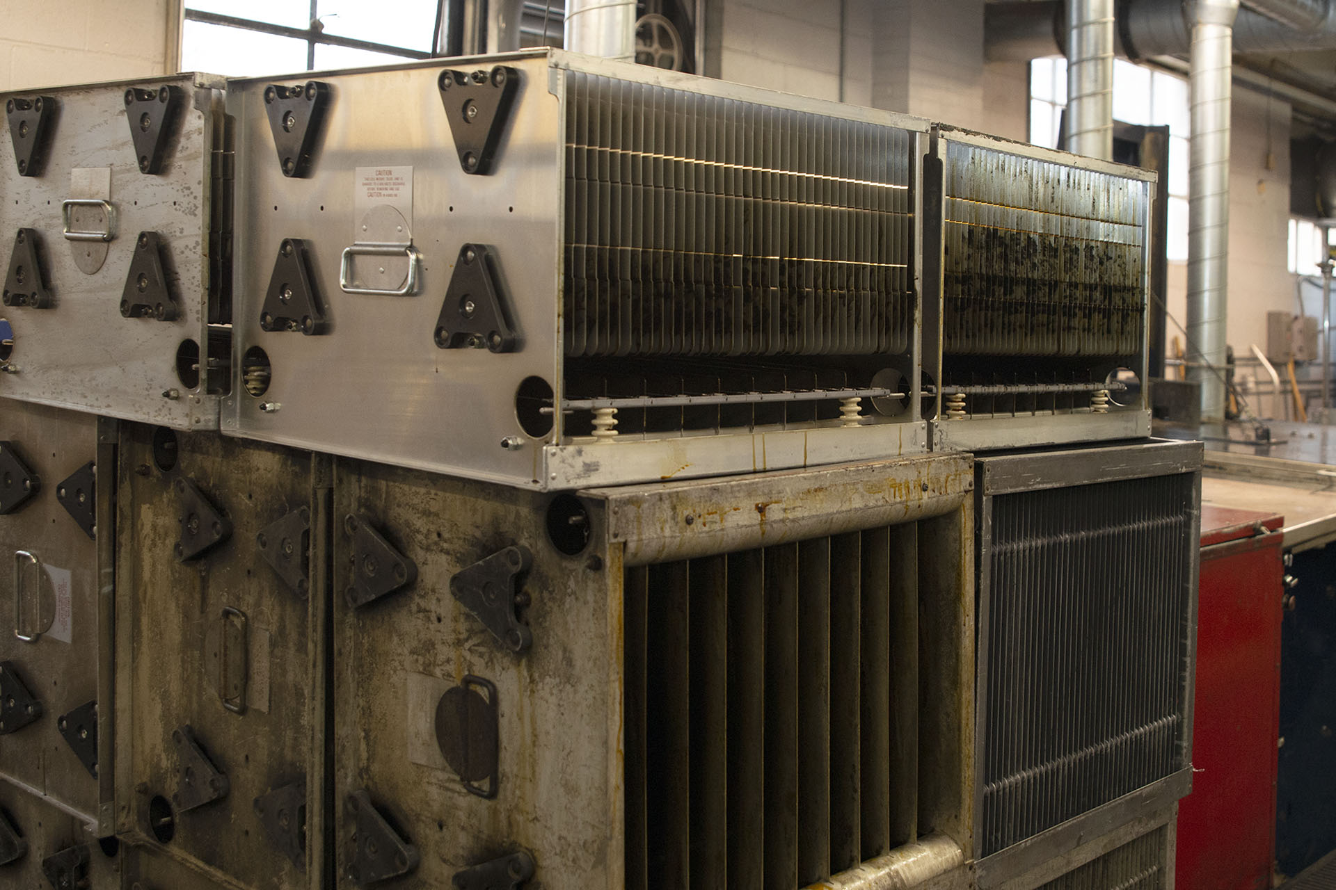 Cleaning Frequency Electrosatic Precipitator